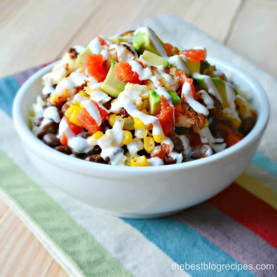 Spicy Tilapia Bowls