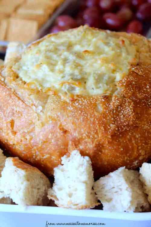 Creamy Artichoke Dip featured on 26 Christmas Recipes from The Best Blog Recipes