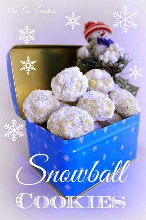 Snowball Cookies featured on 26 Christmas Recipes from The Best Blog Recipes