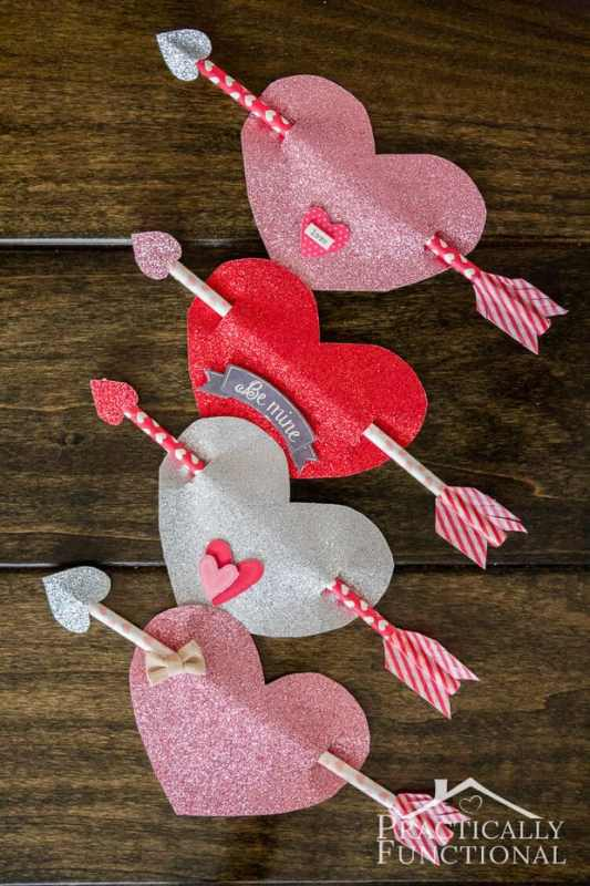 Cupid's Arrow featured on 25 Valentine's Day Crafts from The Best Blog Recipes