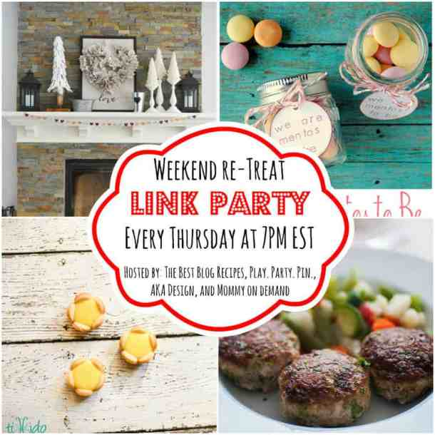 The Weekend re-Treat Link Party #104