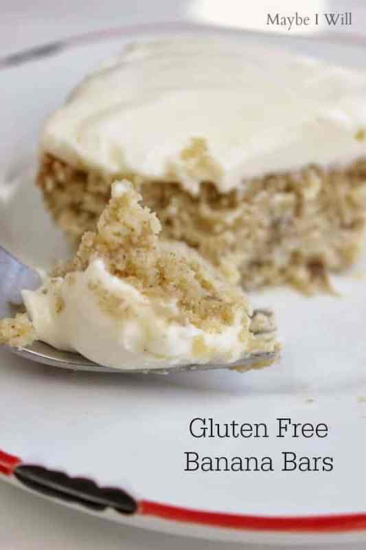 Banana Cake featured on 45 Healthier Recipes from The Best Blog Recipes