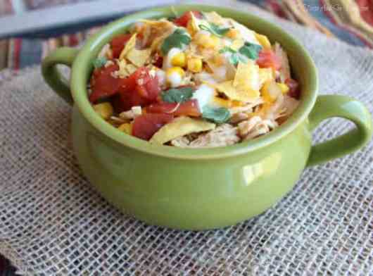 Tortilla Soup featured on 45 Healthier Recipes from The Best Blog Recipes