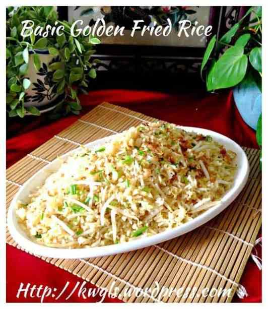 Basic Gold Fried Rice