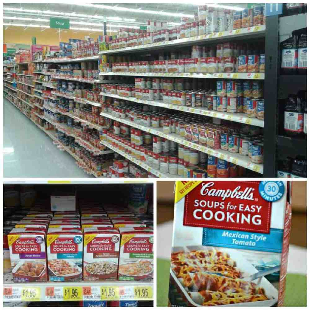 Walmart Campbell's Soups for Easy Cooking Mexican