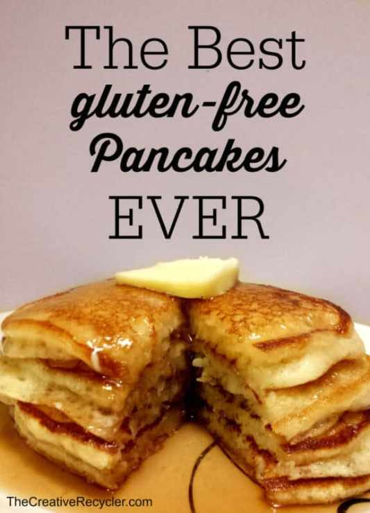The Best Gluten Free Pancakes featured on 25 Gluten Free Recipes from The Best Blog Recipes