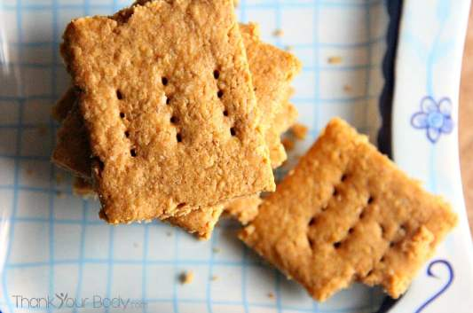 Graham Crackers featured on 25 Gluten Free Recipes from The Best Blog Recipes
