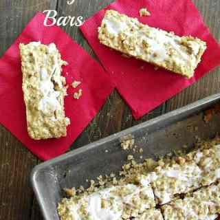 Butterscotch Breakfast Bars
