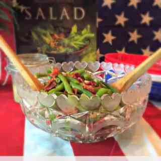 Green Bean and Bacon Salad with Vinaigrette