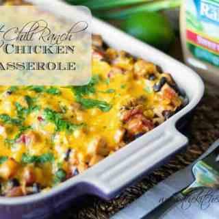 Sweet Chili Ranch Chicken Casserole
