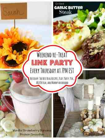 The Weekend re-Treat Link Party #136