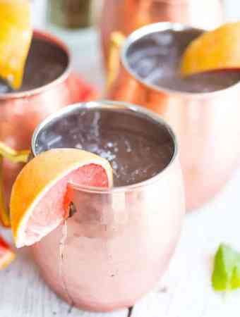Grapefruit Moscow Mules
