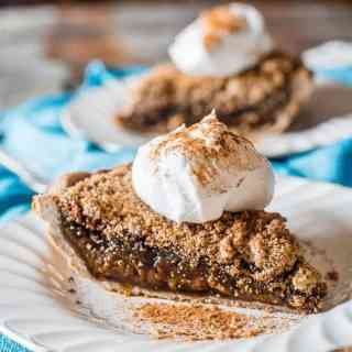Quakertown Molasses Crumb Pie