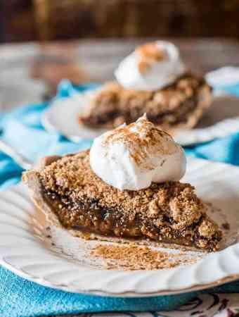 Quakertown Molasses Crumb Pie