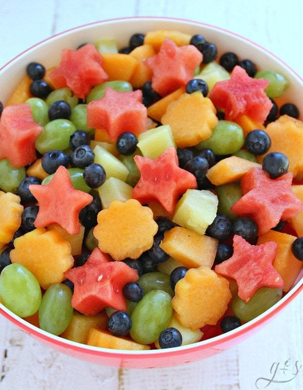 This salad is so beautiful.