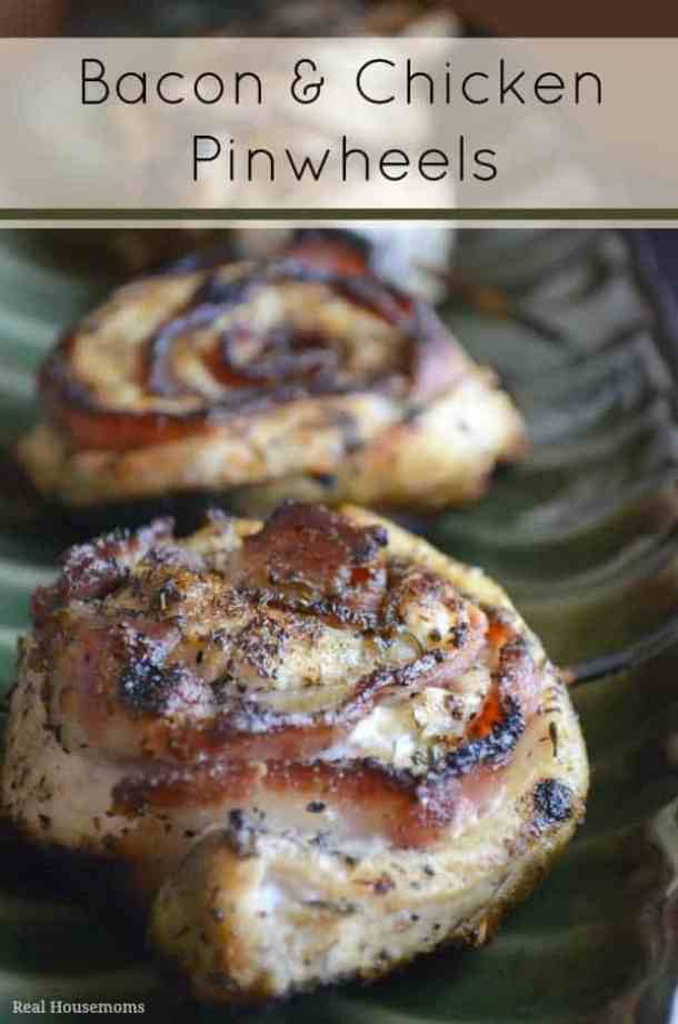 Bacon Chicken Pinwheels -- part of The Best Pinwheel Recipes