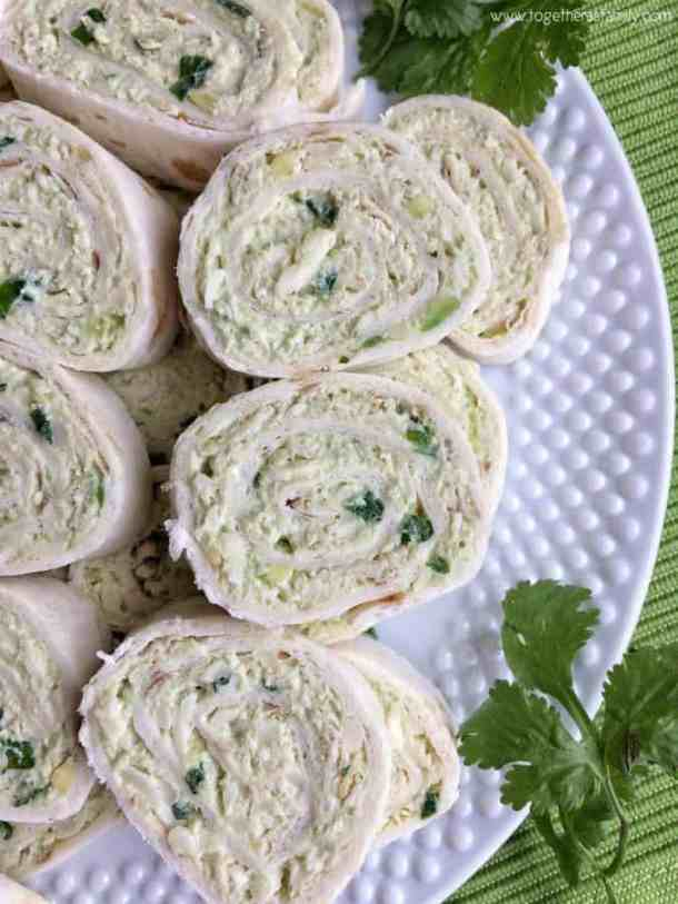 Avocado Chicken Salad Pinwheels -- part of The Best Pinwheel Recipes