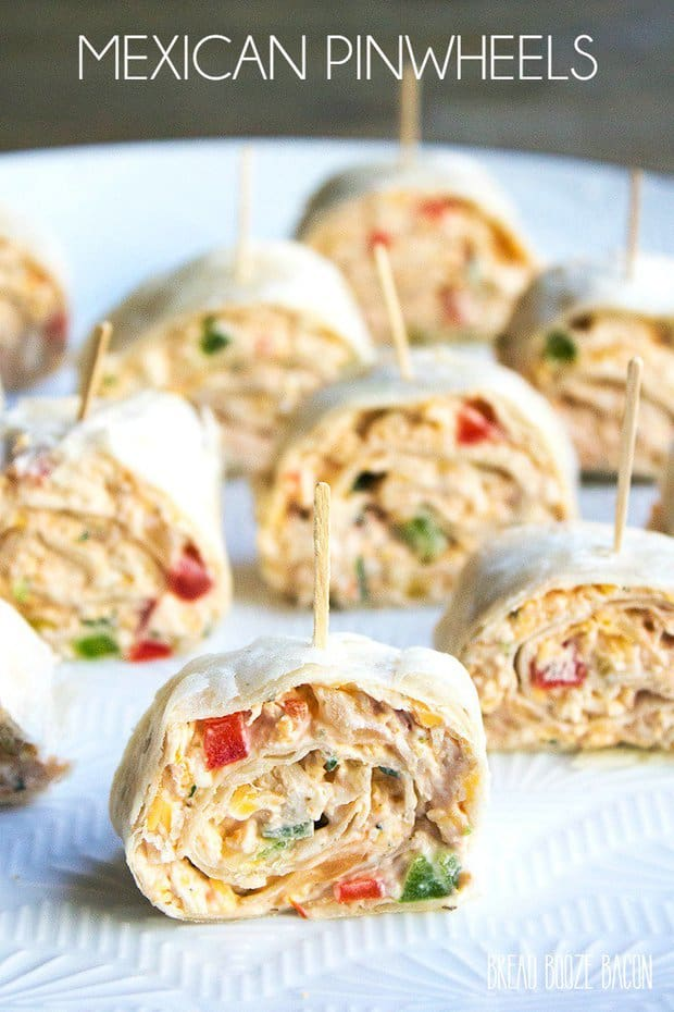 This easyMexican Pinwheels Recipeis a party favorite that's full of bright, bold flavors you'll crave!