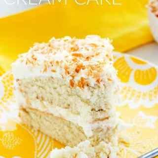 Best Ever Coconut Cream Cake