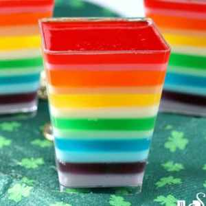 These Rainbow Jello Parfaits are a fun way to serve up a treat to your family and friends!
