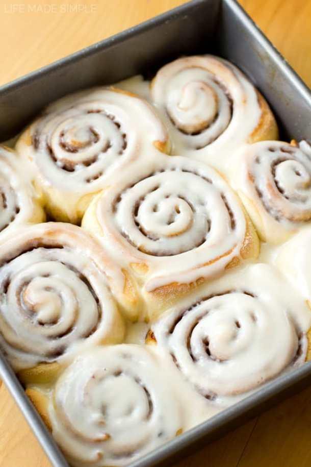 16. 1 Hour Cinnamon Rolls-- Part of 30 The Best Breakfast Sweet Rolls Recipes