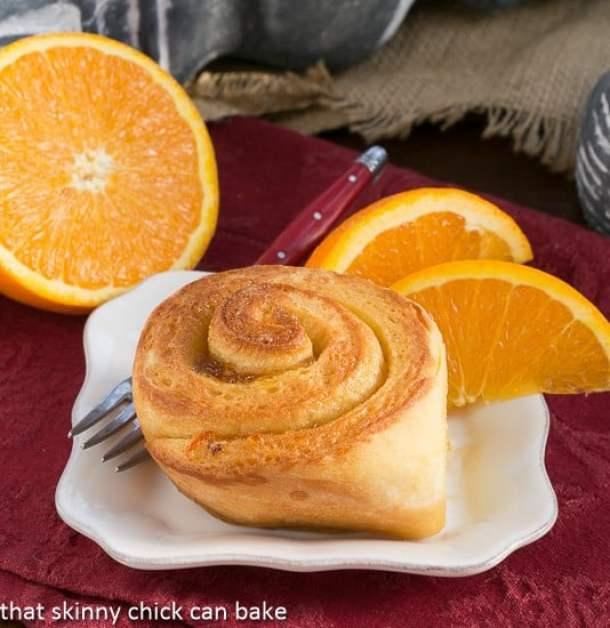 23. Orange Marmalade Filled Sweet Rolls-- Part of 30 The Best Breakfast Sweet Rolls Recipes