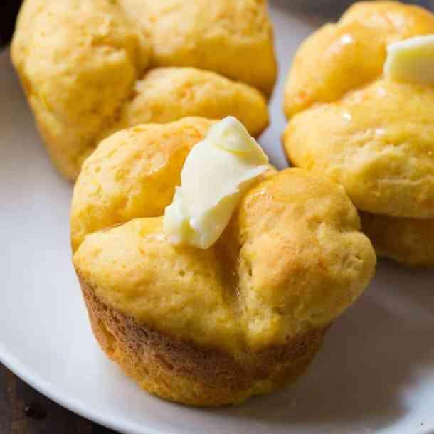 27. Sweet Potato Cloverleaf Rols-- Part of 30 The Best Breakfast Sweet Rolls Recipes