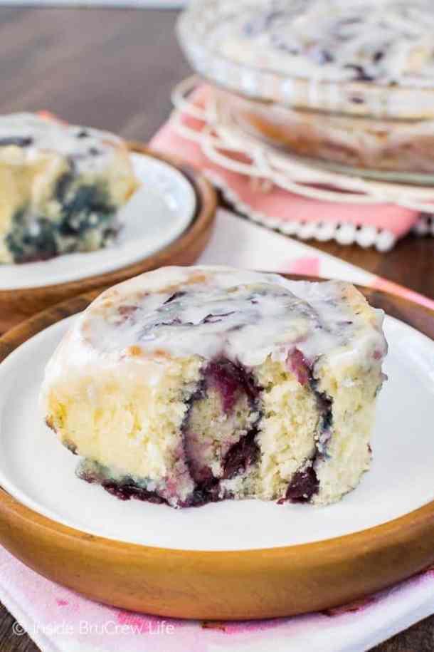 3. Cherry Sweet Rolls-- Part of 30 The Best Breakfast Sweet Rolls Recipes