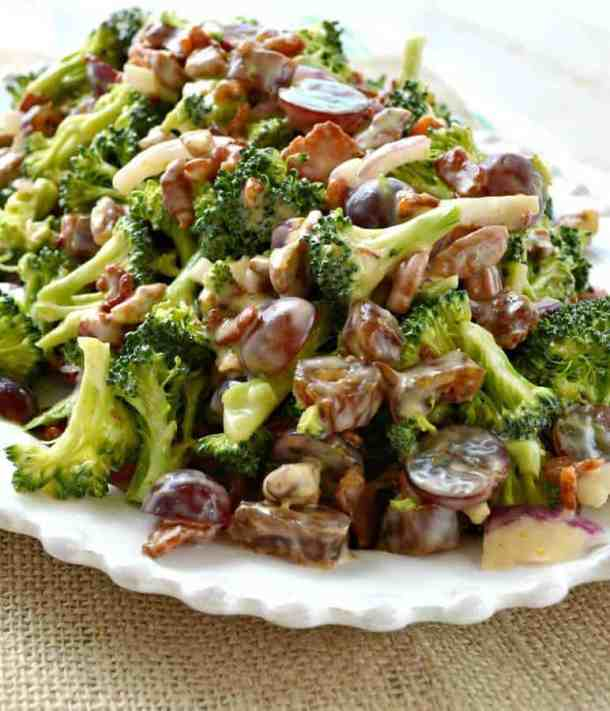 Broccoli Salad -- part of The Best Picnic and Potluck Recipes