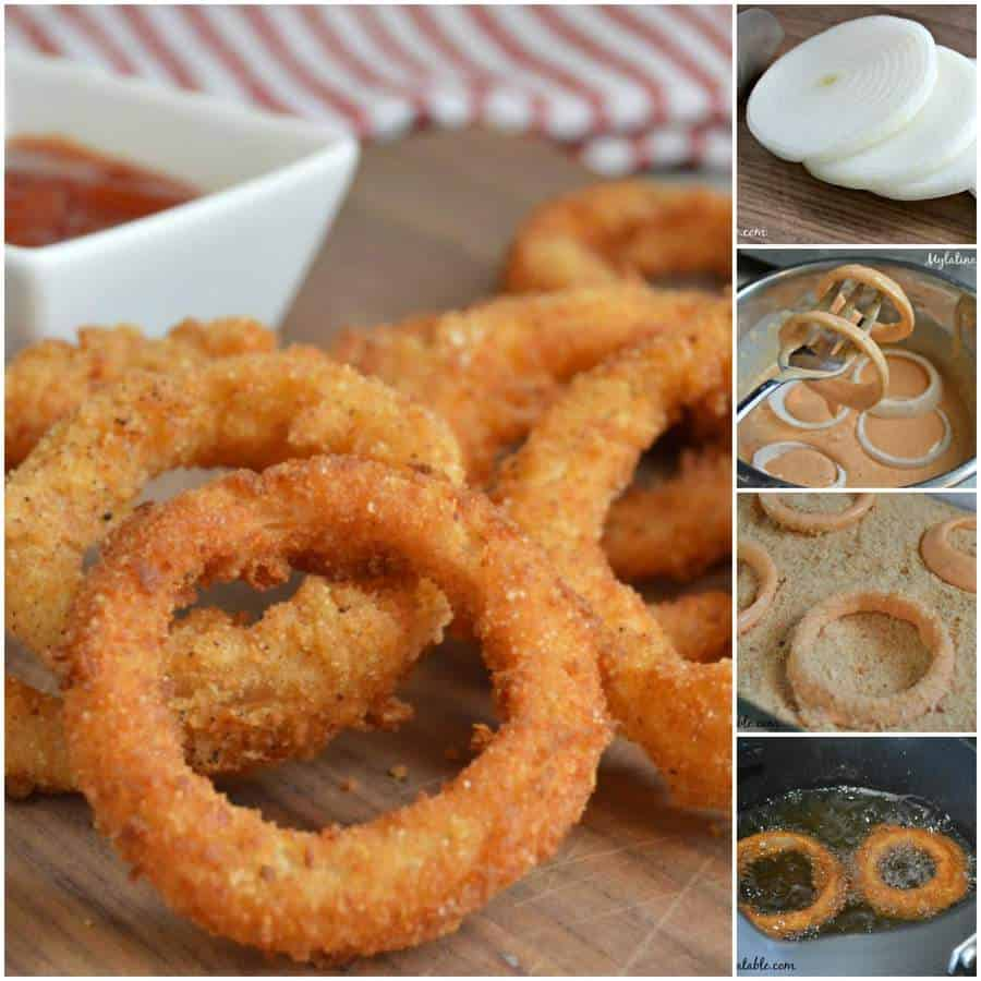 Homemade Extra Crispy Onion Rings Are One Of My Favorite Appetizers To Make – Especially For Game Time Parties And More.