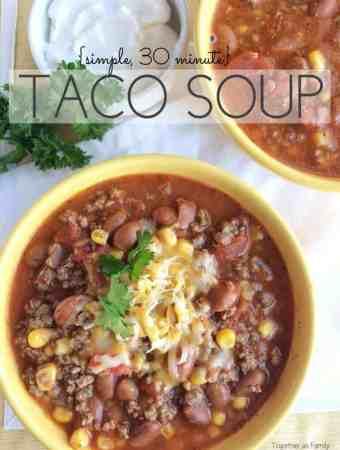 30 Minute Taco Soup