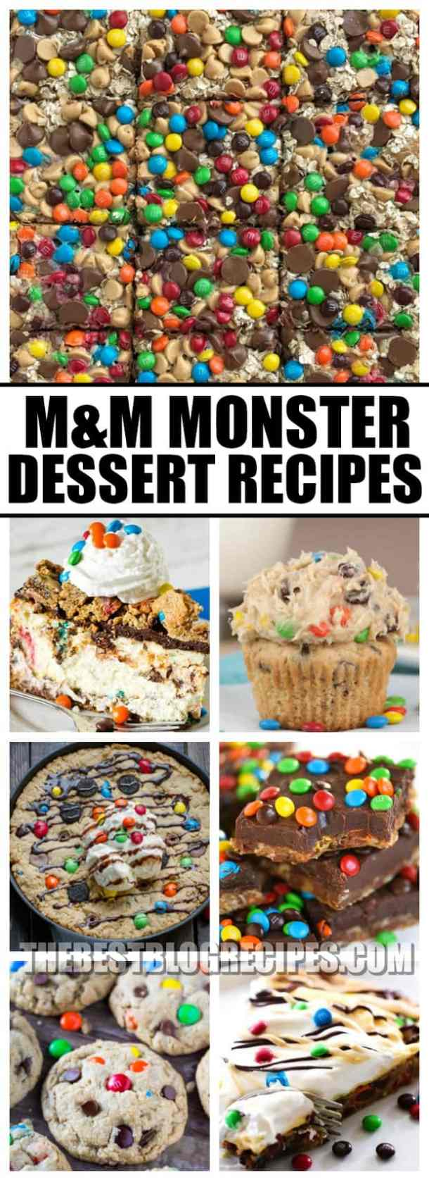Need a go to dessert for any occasion? Check out M&M Monster Dessert Recipes that your kids will love! With delicious flavors and so much variety, monster recipes are proven to have kids and adults alike coming back for more!