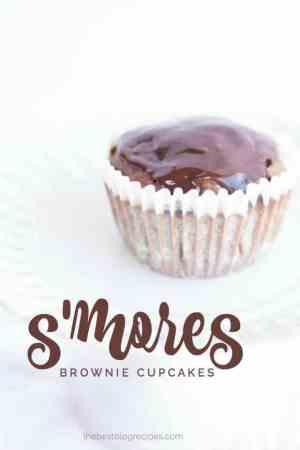 smore brownie cupcakes