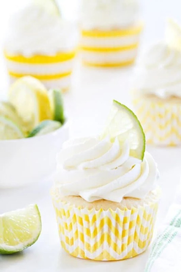 Pineapple Cupcakes (re-link)-- Part of 30 Pineapple Recipes for your Sweet Summertime Cravings