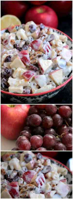 Apple and Honey Pasta Salad