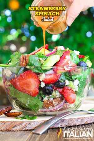 Best Ever Strawberry Spinach Salad