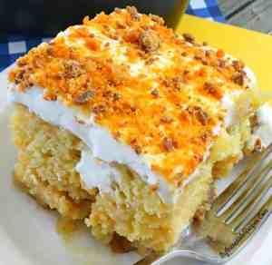 Butterfinger Ecstasy Cake