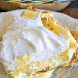 Caramelized Banana Pudding Pie