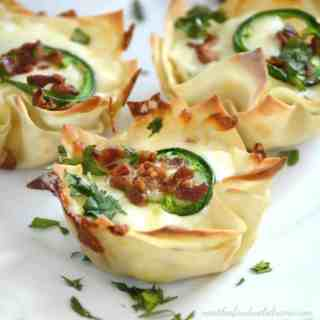 Jalapeno Popper Cups with Bacon