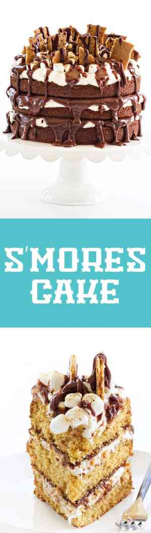 S'mores Cake Long Pin