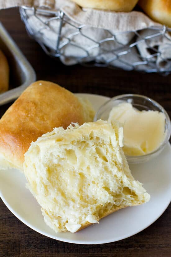 Warm buttery dinner rolls are our thing! Are they yours too? There is just something about a fresh roll — the smell, the taste, yeah — we love everything about them. That's why we're excited that we found these1 Hour Soft and Fluffy Dinner Rollsover atLife Made Simple. Seriously, you onlyneed 60 minutes start to finish for this recipe and then they're done! We know —whoo hoo! Now go on and get your roll on.