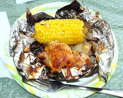 17 Camping Chicken Foil Dinner