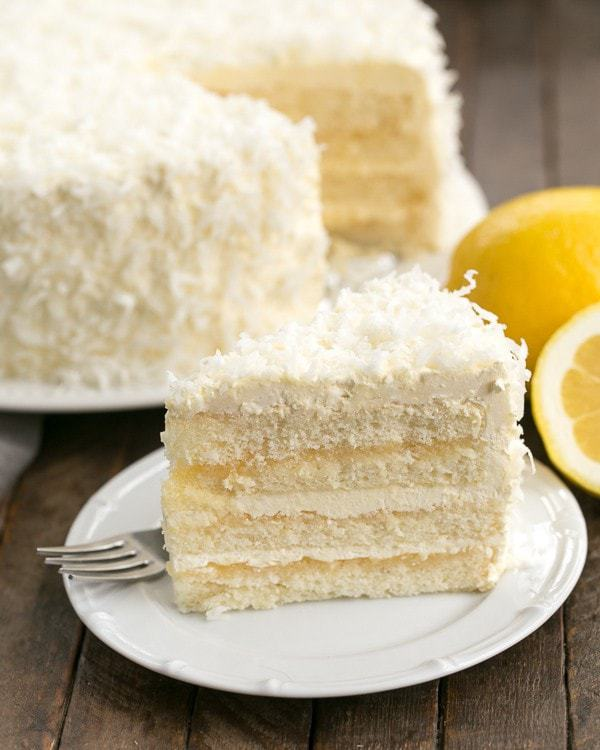 Lemon desserts evoke thoughts of sunshine and are perfect for springtime and Easter. This luscious Lemon Layer Cake with Lemon Curd Filling is definitely a special occasion dessert!
