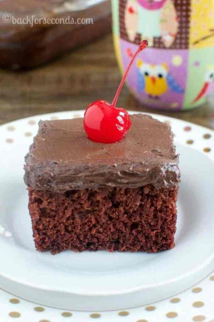 2 Chocolate Crazy Cake
