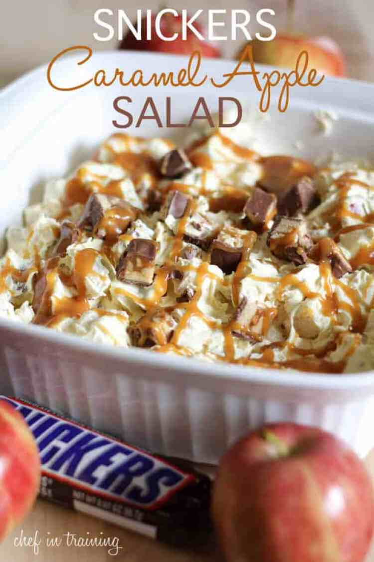 21Snickers Caramel Apple Salad