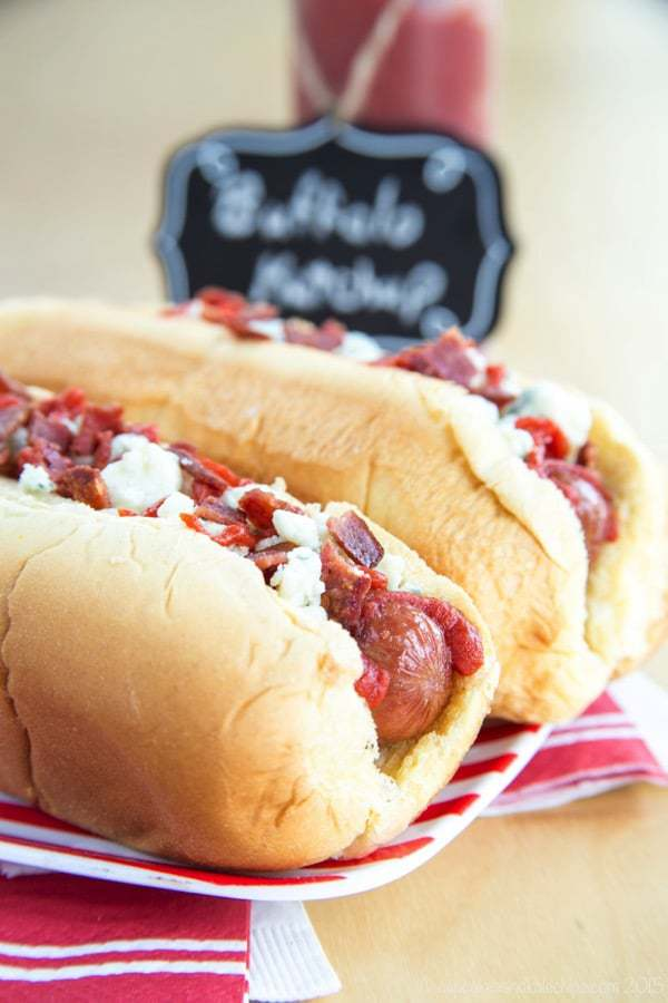 These hot dogs combine some of my favorite flavors and I know that you are goign to love them!