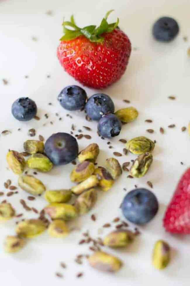 Ingredients for Smoothie Bowl