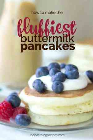 How to Make the Fluffiest Buttermilk Pancakes