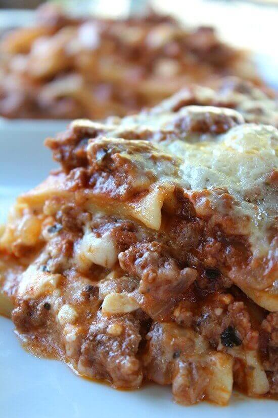 Classic Lasagna