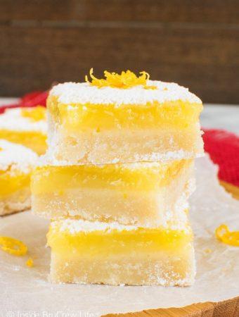The Best Lemon Bars -- Part of The Best Lemon Dessert Recipes